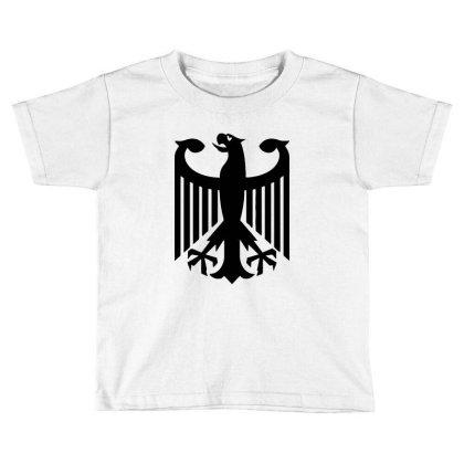 Bundeswehr German Army Eagle Toddler T-shirt Designed By Ampun Dj