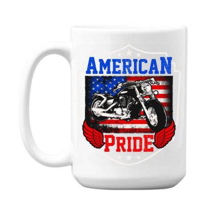 American Pride 15 Oz Coffe Mug Designed By Tht