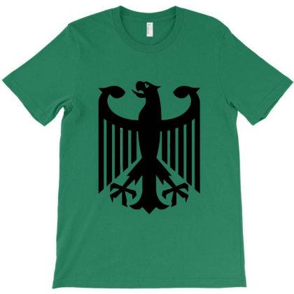 Bundeswehr German Army Eagle T-shirt Designed By Ampun Dj