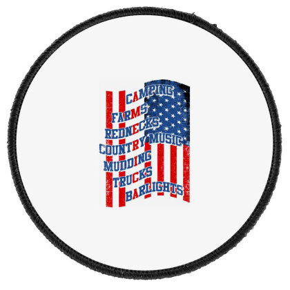 America Round Patch Designed By Tht