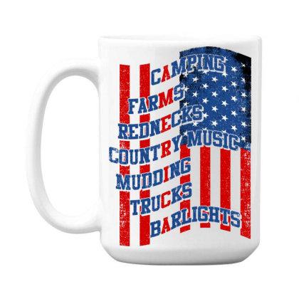 America 15 Oz Coffe Mug Designed By Tht