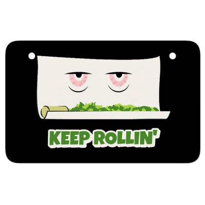 Keep Rollin' Atv License Plate Designed By Darthn00b