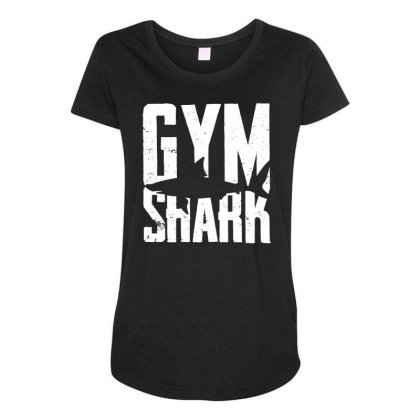 Gym Shark Maternity Scoop Neck T-shirt Designed By G3ry