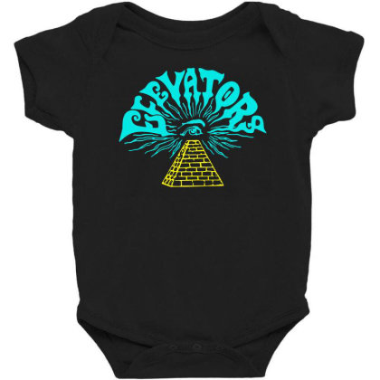 13th Floor Elevators Slim Fit T Shirt Baby Bodysuit Designed By Babydoll