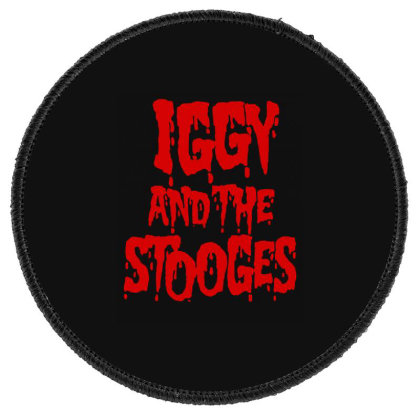 Iggy & The Stooges Shirt, Sticker T Shirt Round Patch Designed By Babydoll