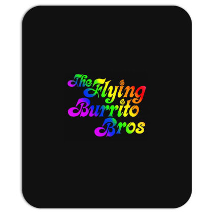Flying Burrito Brothers Shirt Slim Fit T Shirt Mousepad Designed By Babydoll