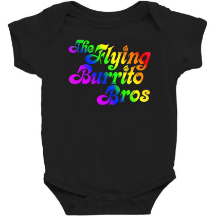Flying Burrito Brothers Shirt Slim Fit T Shirt Baby Bodysuit Designed By Babydoll
