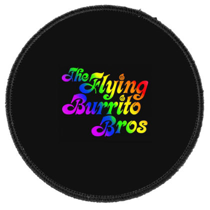 Flying Burrito Brothers Shirt Slim Fit T Shirt Round Patch Designed By Babydoll