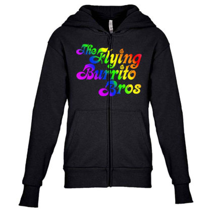 Flying Burrito Brothers Shirt Slim Fit T Shirt Youth Zipper Hoodie Designed By Babydoll