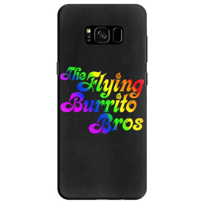 Flying Burrito Brothers Shirt Slim Fit T Shirt Samsung Galaxy S8 Case Designed By Babydoll