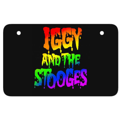 Iggy & The Stooges Shirt, Sticker, Mask Classic T Shirt Atv License Plate Designed By Babydoll