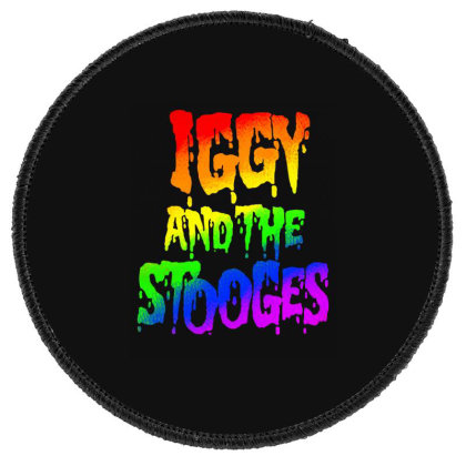 Iggy & The Stooges Shirt, Sticker, Mask Classic T Shirt Round Patch Designed By Babydoll