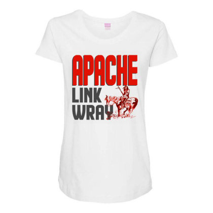Apache Link Wray Maternity Scoop Neck T-shirt Designed By Babydoll