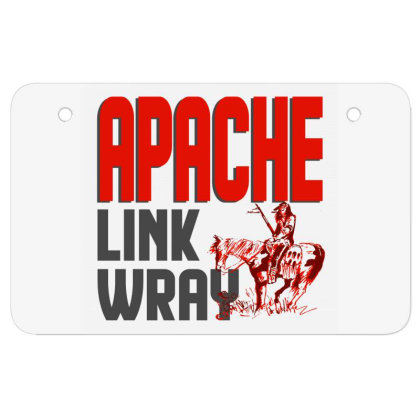 Apache Link Wray Atv License Plate Designed By Babydoll