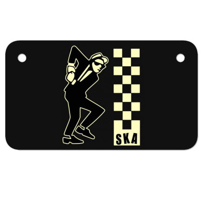 Ska Specials, Dance Craze Logo Shirt, Sticker, Hoodie, Mask Classic T Motorcycle License Plate Designed By Babydoll