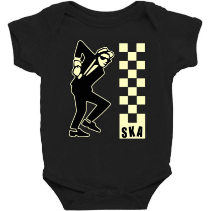 Ska Specials, Dance Craze Logo Shirt, Sticker, Hoodie, Mask Classic T Baby Bodysuit Designed By Babydoll