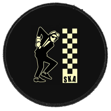 Ska Specials, Dance Craze Logo Shirt, Sticker, Hoodie, Mask Classic T Round Patch Designed By Babydoll