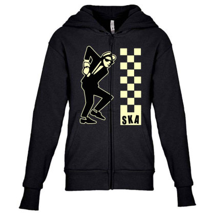 Ska Specials, Dance Craze Logo Shirt, Sticker, Hoodie, Mask Classic T Youth Zipper Hoodie Designed By Babydoll