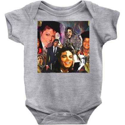 Mj Poster 1 Baby Bodysuit Designed By Artango