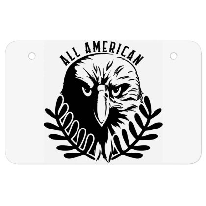 All American Atv License Plate Designed By Tht