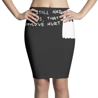 Hurt Feelings Pencil Skirts Designed By G3ry