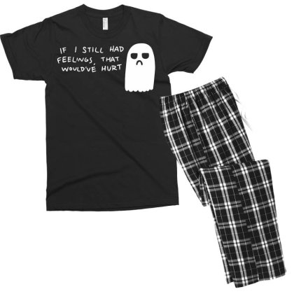 Hurt Feelings Men's T-shirt Pajama Set Designed By G3ry