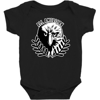 All American Baby Bodysuit Designed By Tht