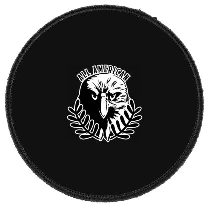 All American Round Patch Designed By Tht