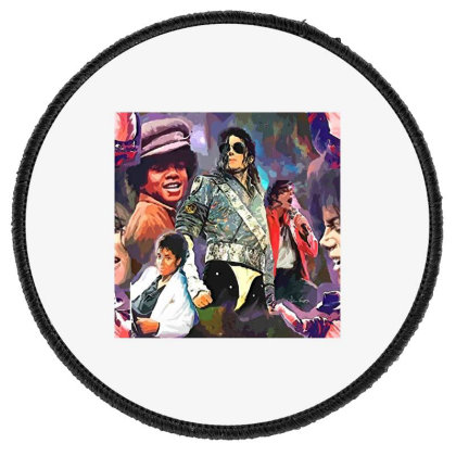 Mj  Poster Round Patch Designed By Artango