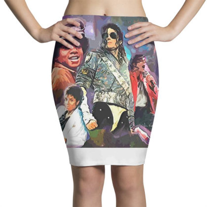 Mj  Poster Pencil Skirts Designed By Artango