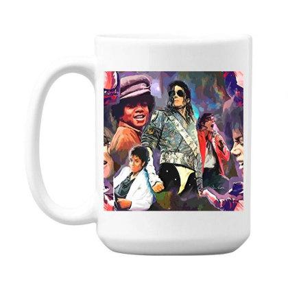 Mj  Poster 15 Oz Coffe Mug Designed By Artango