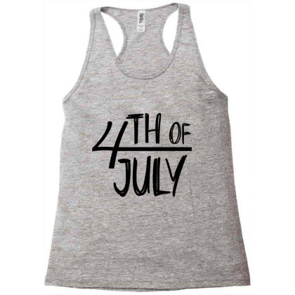 4th Of July Happy Independence Day Racerback Tank Designed By Tht