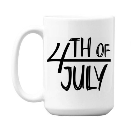 4th Of July Happy Independence Day 15 Oz Coffe Mug Designed By Tht