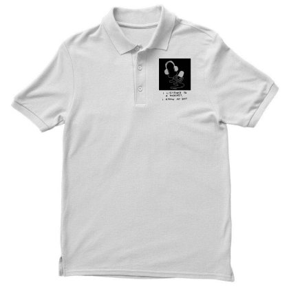 I Listened To A Podcast Light Men's Polo Shirt Designed By G3ry