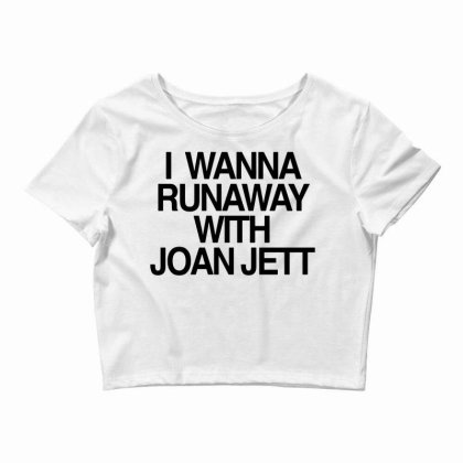 I Wanna Runaway Crop Top Designed By G3ry