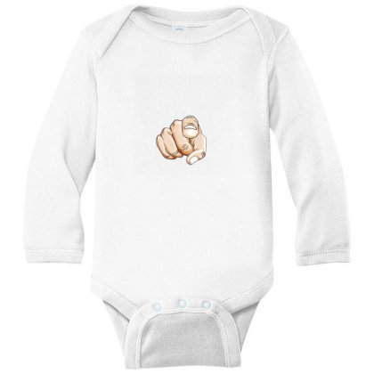 Yes Its You Long Sleeve Baby Bodysuit Designed By Sufiyan67