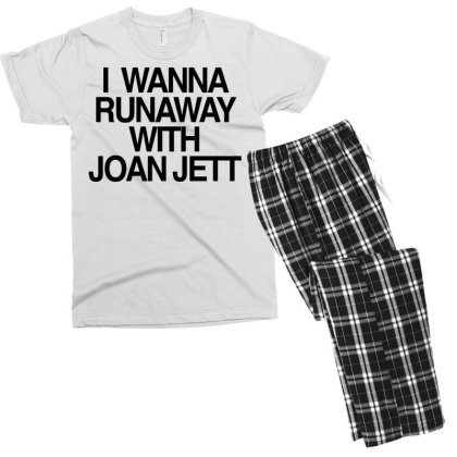 I Wanna Runaway Men's T-shirt Pajama Set Designed By G3ry