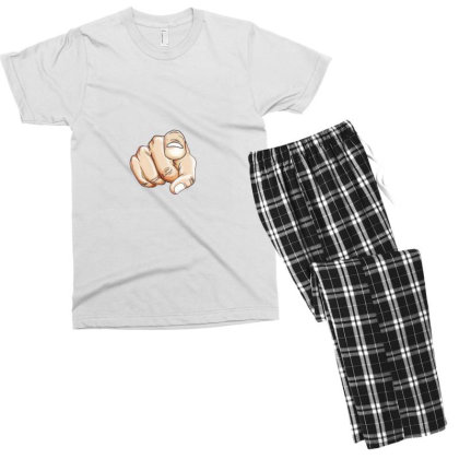 Yes Its You Men's T-shirt Pajama Set Designed By Sufiyan67