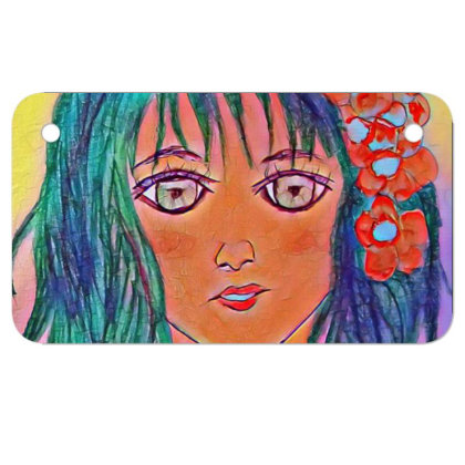 Cool Girl Motorcycle License Plate Designed By Swati455