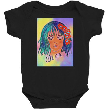 Cool Girl Baby Bodysuit Designed By Swati455
