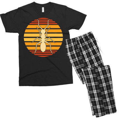 Insect Ant Keeper Ants Men's T-shirt Pajama Set Designed By G3ry