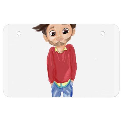 Cute Boy Atv License Plate Designed By Sufiyan67