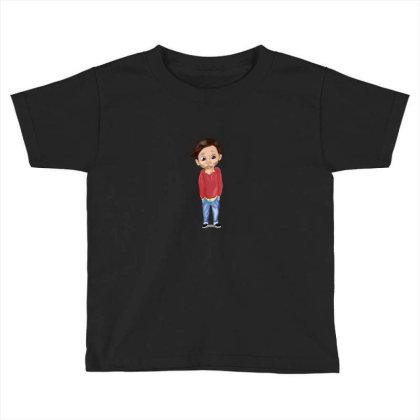 Cute Boy Toddler T-shirt Designed By Sufiyan67