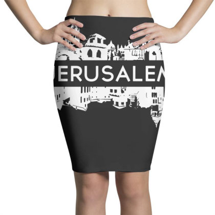 Jerusalem Isreal Pencil Skirts Designed By G3ry