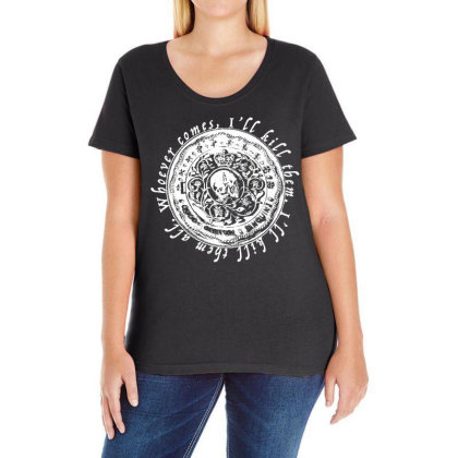 John Wick Blood Oath Ladies Curvy T-shirt Designed By G3ry