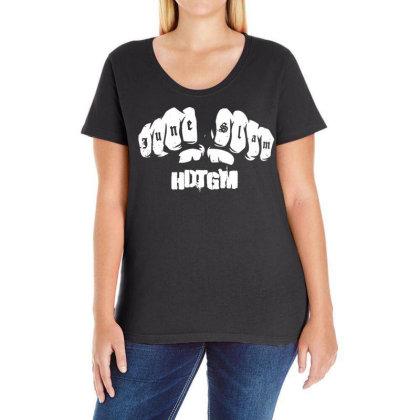 June Slam Ladies Curvy T-shirt Designed By G3ry