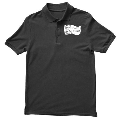 Keep The Earth Clean Men's Polo Shirt Designed By G3ry