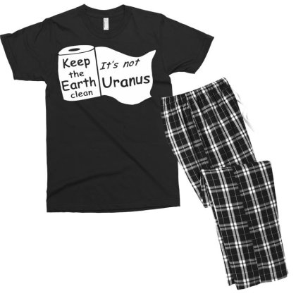Keep The Earth Clean Men's T-shirt Pajama Set Designed By G3ry