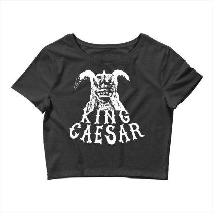 King Caesar Crop Top Designed By G3ry