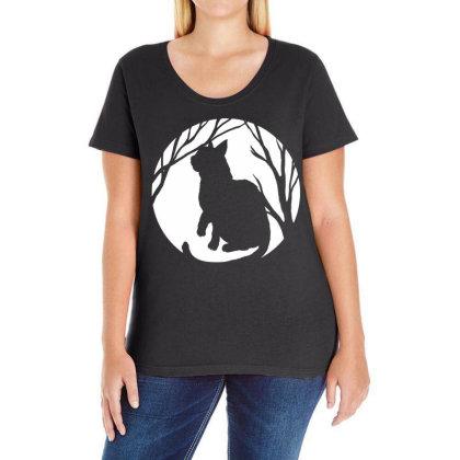 Kitten Animal Cute Cat Ladies Curvy T-shirt Designed By G3ry